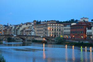 resized_Anochece en el Puente Vecchio