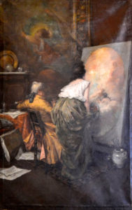 resized_Estudio de Pintor. Gil Montejano. 1892.