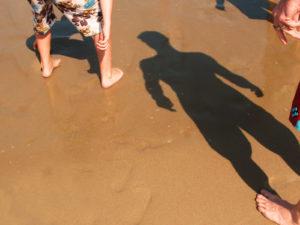 the man beach